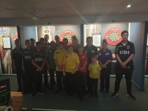 Jamie Caven JDC Darts Academy
