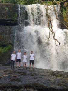 Wales - Sgwd Yr Eira Waterfall